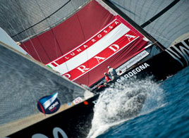 LOUIS VUITTON TROPHY WSTA LA MADDALENA, NO WIND NO RACE