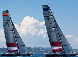 LOUIS VUITTON TROPHY WSTA LA MADDALENA, LUNA ROSSA VS ALL4ONE (FRA-TED)