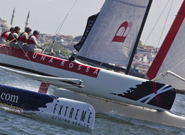 EXTREME SAILING SERIES ACT 3, ROUTE TOWARDS ISTANBUL