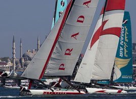 EXTREME SAILING SERIES ACT 3, DAY 3
