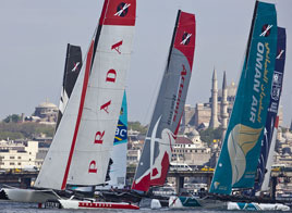 EXTREME SAILING SERIES ACT 3, TEN RACES IN ONE DAY