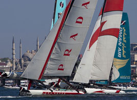 EXTREME SAILING SERIES ACT 3, AFTER 43 RACES LUNA ROSSA IS NOW 5TH