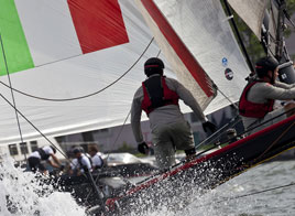 EXTREME SAILING SERIES ACT 4, A STARS AND STRIPES EVENT