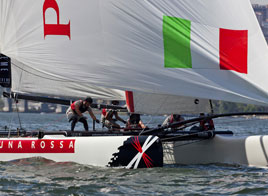 EXTREME SAILING SERIES ACT 4, HIGH FIVE!