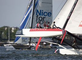 EXTREME SAILING SERIES ACT 4, 3rd DAY OF RACING