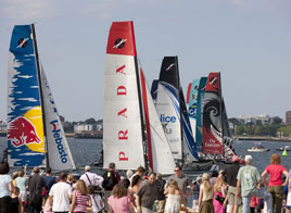 EXTREME SAILING SERIES ACT 4, 4th DAY OF RACING