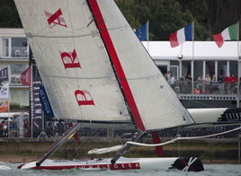 EXTREME SAILING SERIES ACT 5, THE SOLENT KEEPS ITS PROMISE