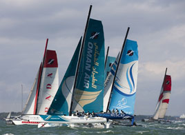 EXTREME SAILING SERIES ACT 5, LUNA ROSSA TAKES THE LEAD