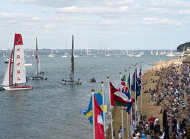 EXTREME SAILING SERIES ACT 5, FOURTH DAY IN COWES