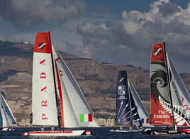 EXTREME SAILING SERIES ACT 6, SECOND DAY, SECOND PLACE