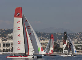 EXTREME SAILING SERIES ACT 7, KICKS OFF DAY