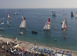 "EXTREME SAILING SERIES ACT 7, ""ONLY"" 5 RACES"