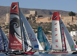 EXTREME SAILING SERIES ACT 8, SECOND DAY