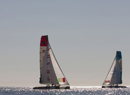 EXTREME SAILING SERIES ACT 8, IN A SHORT RANKING
