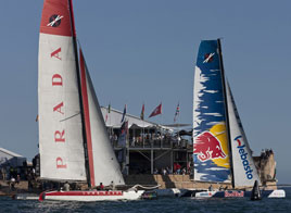 EXTREME SAILING SERIES ACT 8, ALINGHI WINS THE EVENT, LUNA ROSSA TAKES THE LEADERSHIP OF THE CIRCUIT