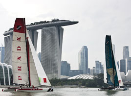 EXTREME SAILING SERIES ACT 9, MORE TOMORROW...