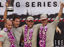 LUNA ROSSA IS THE WINNER OF THE 2011 EXTREME SAILING SERIES