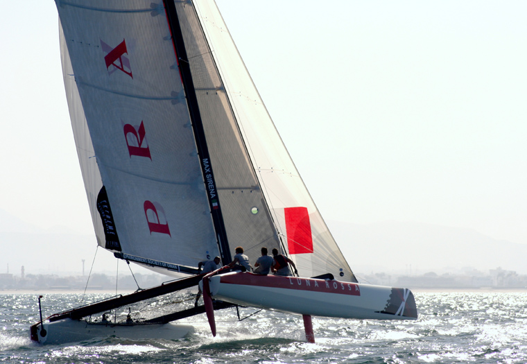 EXTREME SAILING SERIES ACT 1, EIGHT RACES, TWO WINS