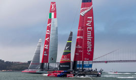 The Louis Vuitton Cup Round Robin